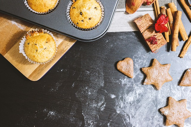 Holiday cookies and baked treats