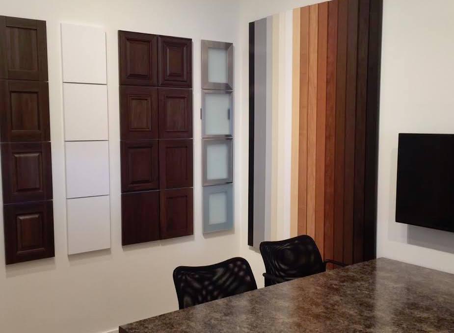 Cabinet and door styles from Denver showroom