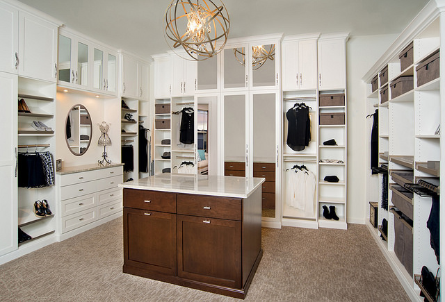 Completed custom closet Longmont, CO