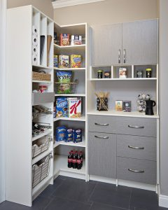 Custom Pantry with Coffee Station in Denver