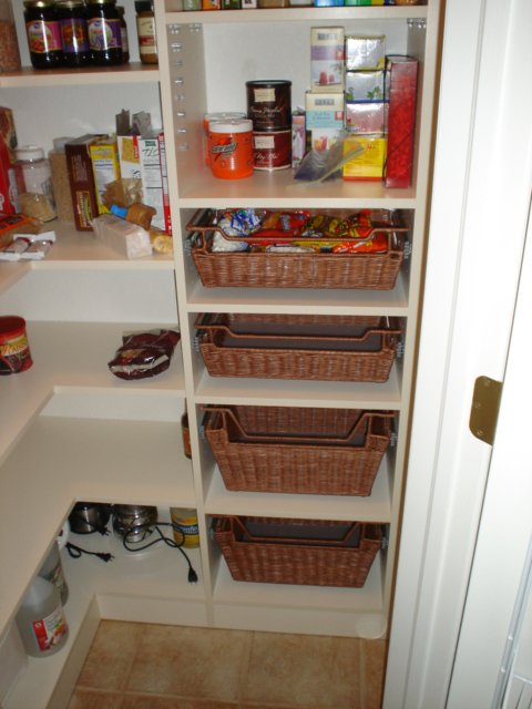 white custom pantry storage Denver