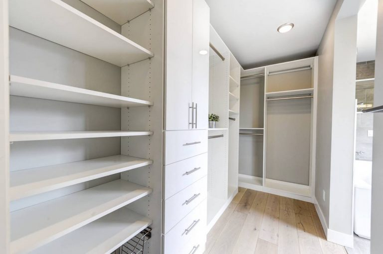 Modern Custom Closet Design Colorado