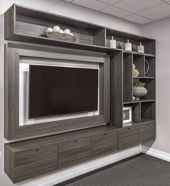 Ultimate Entertainment Center For Gaming Denver Closet Storage Concepts