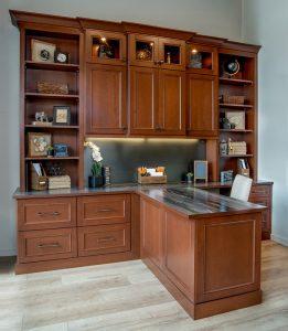 custom home office longmont