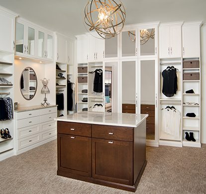 Showroom Walk In Closet