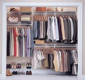 Closet storage solution