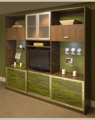 Custom entertainment center in Las Vegas