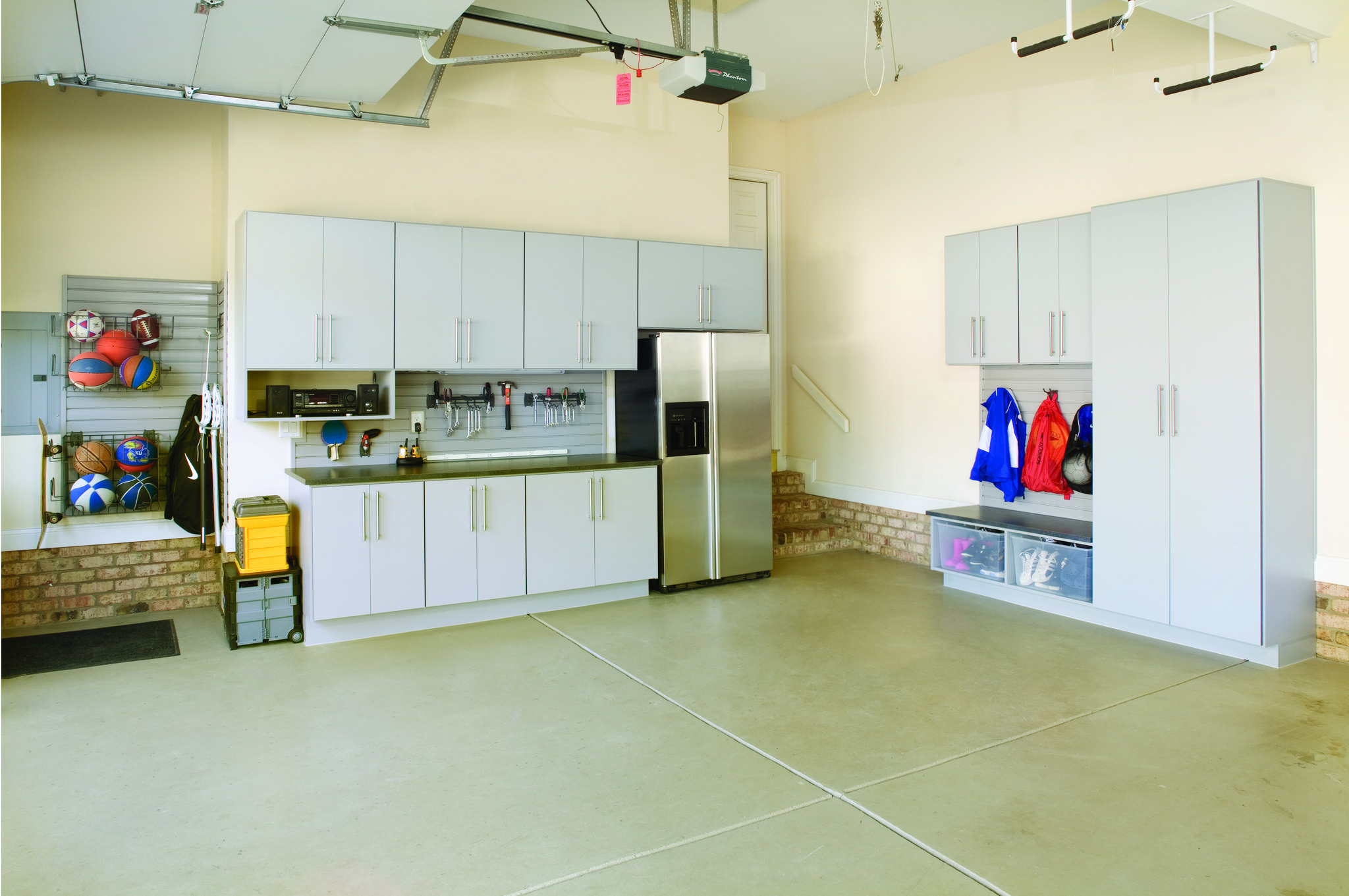 Spring cleaning your garage closet storage concepts for Garage basics