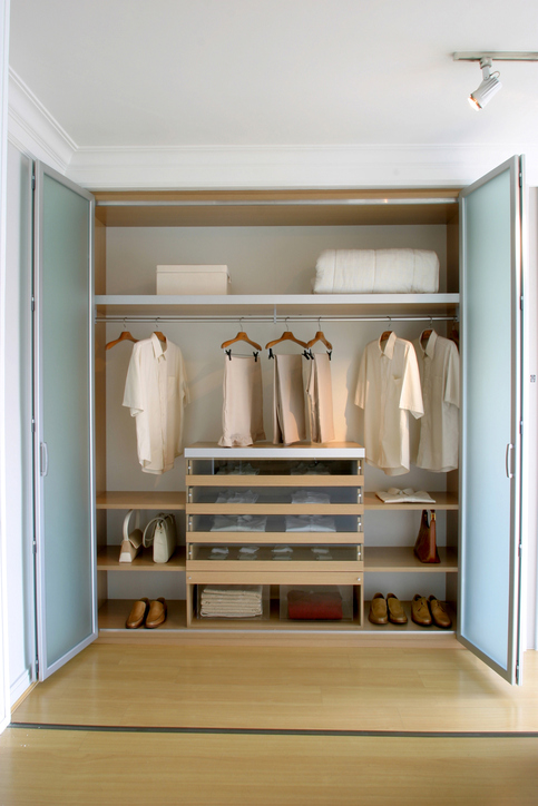 Custom Storage Ideas For Small Closets