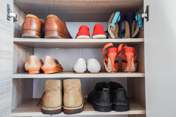 Las Vegas closets shoe storage