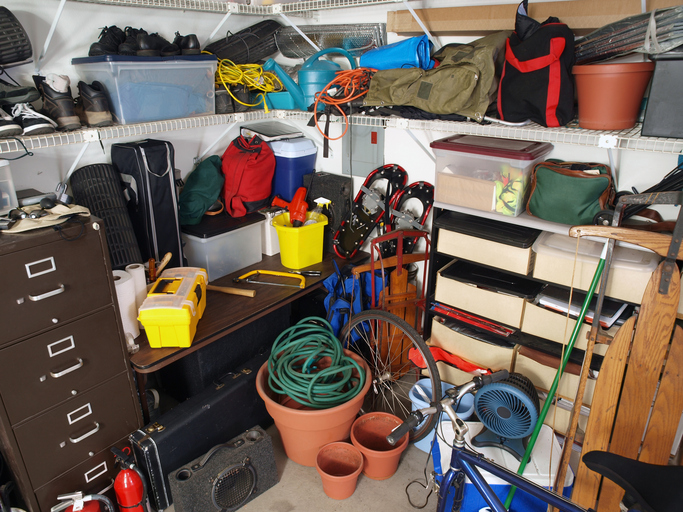 garage clutter Las Vegas
