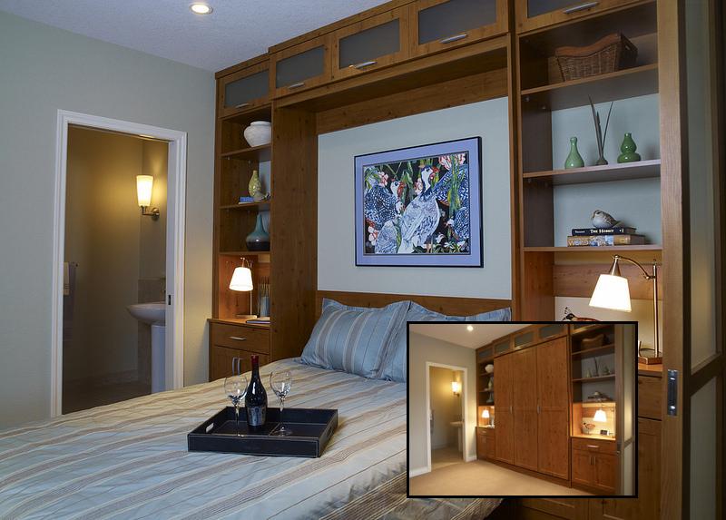 Custom Murphy bed for Guest Rooms Las Vegas