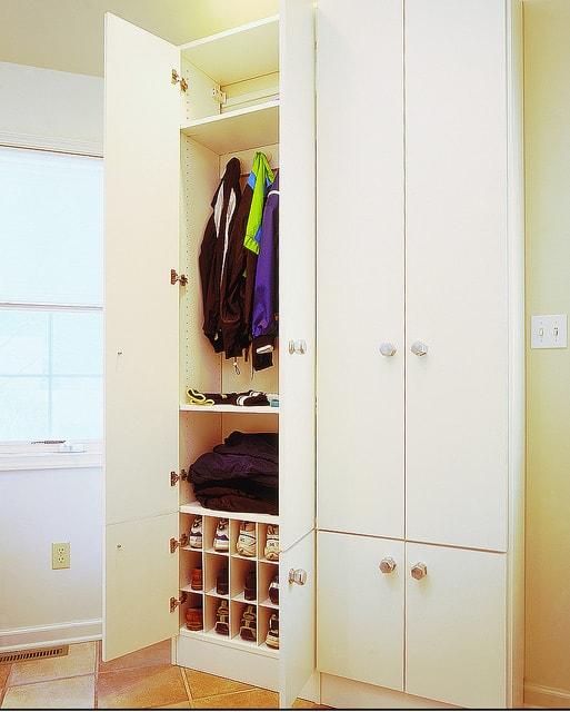 Custom mudroom closet Las Vegas Closet & Storage Concepts