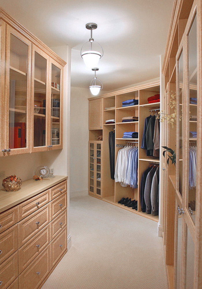 Custom Closet Wood Minneapolis