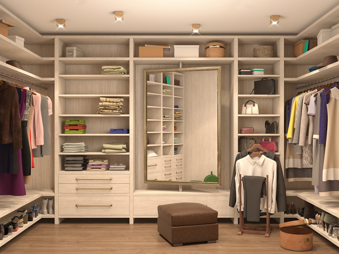 custom closet Modesto
