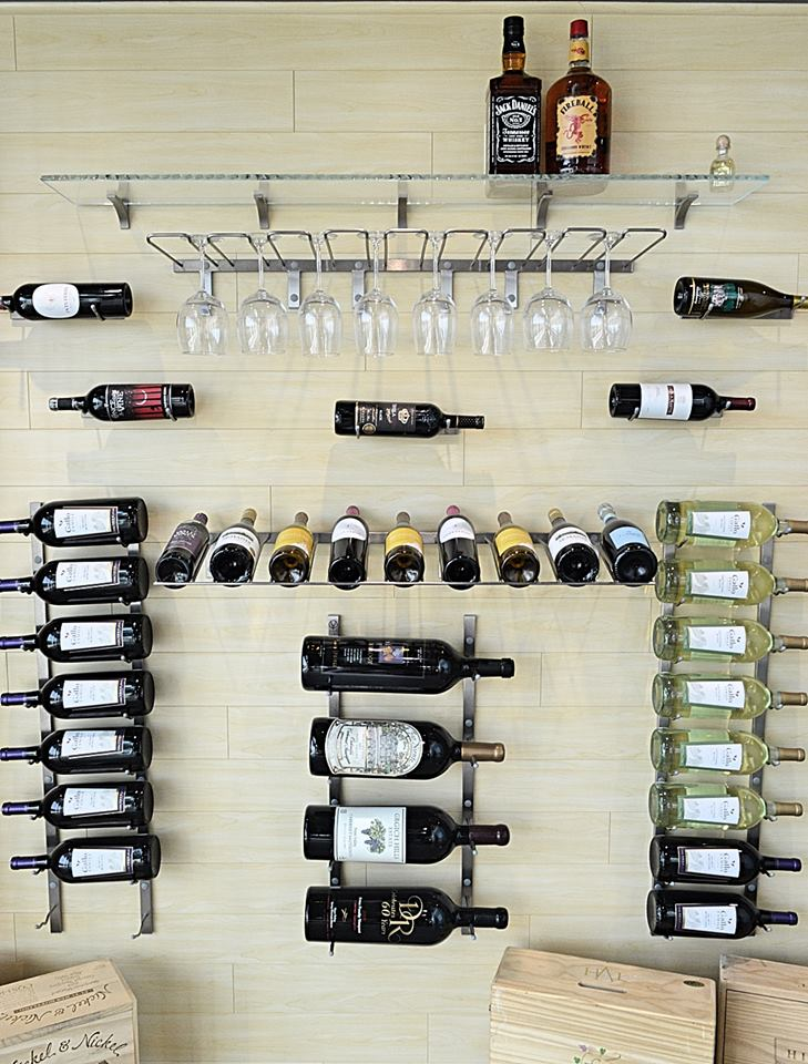 custom wine rack Modesto
