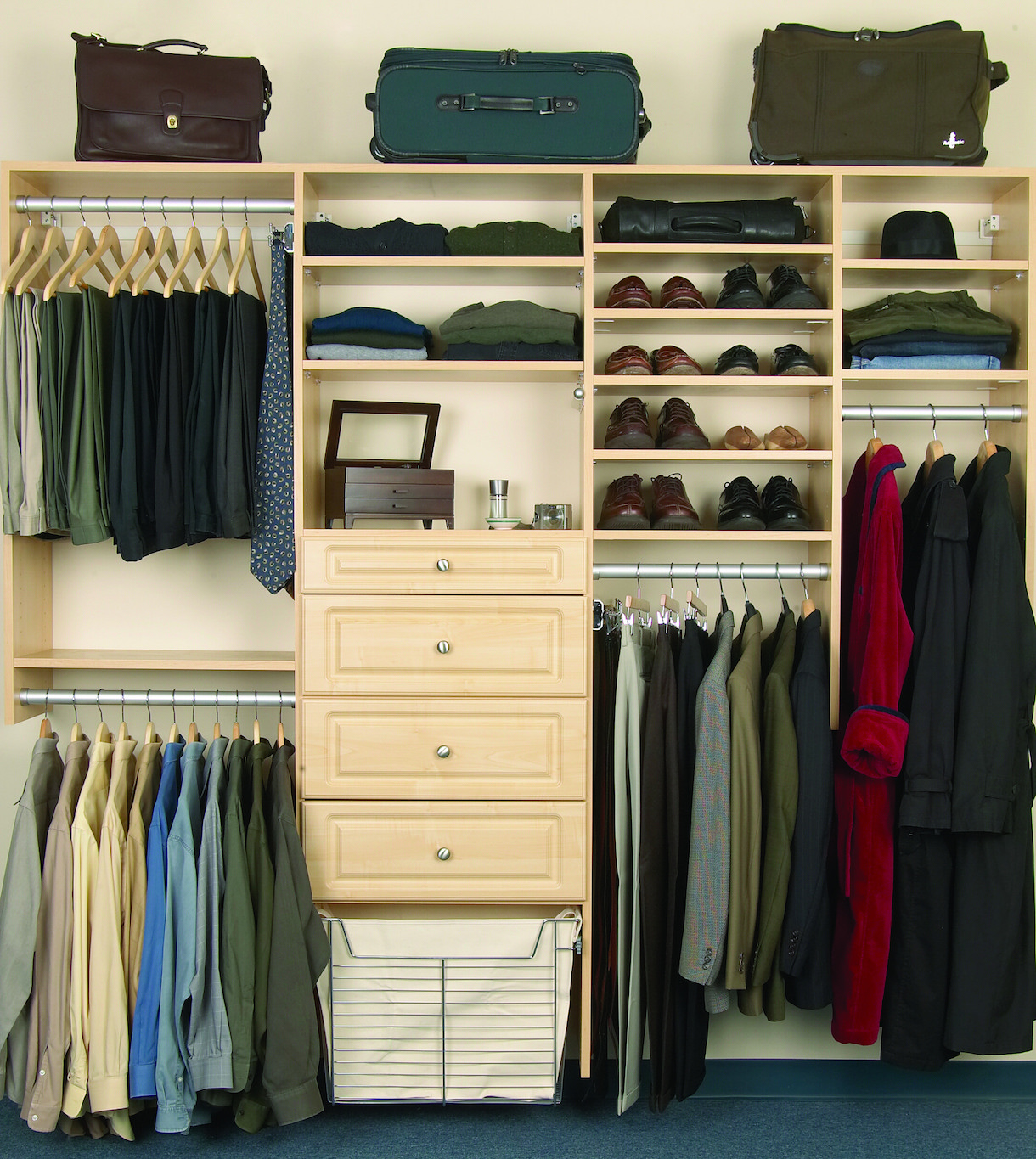 Custom Closets In Fairfield, New Jersey