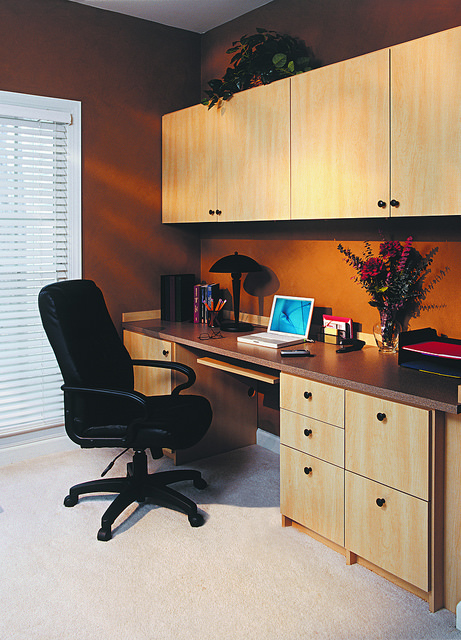 basics of a custom home office design - Custom Home Office Designs
