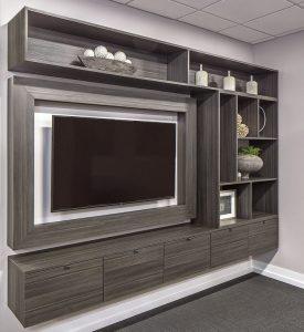 Home entertainment wall unit Connecticut closets