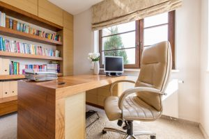 Custom home office Omaha