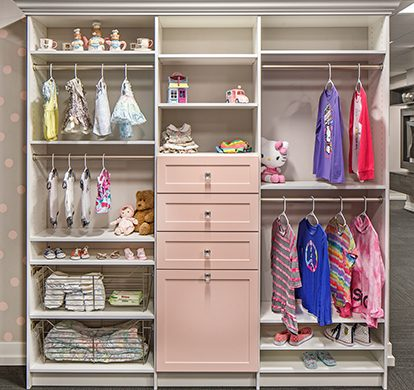 custom child's closet