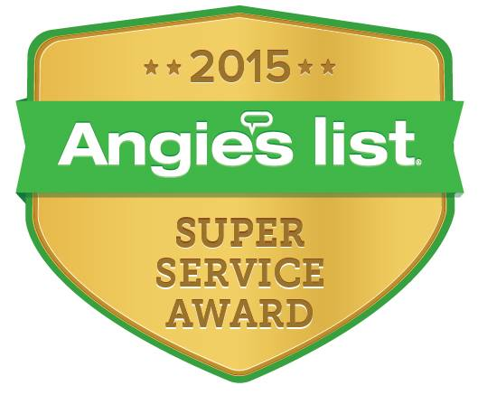 Closet & Storage Concepts Angie's Super Service Award 2015 badge