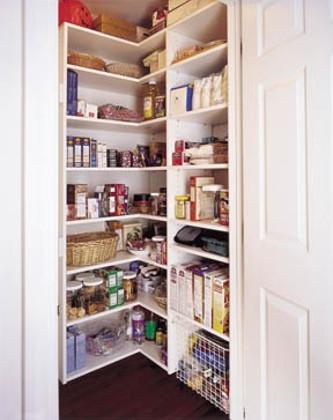 Built In Corner Pantry Unit