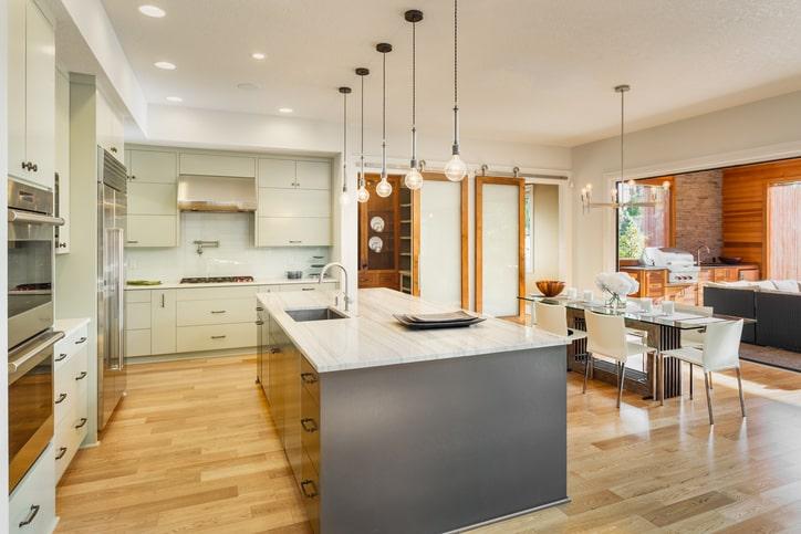 luxurious modern and organized kitchen