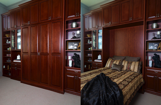 Murphy bed and guest room project