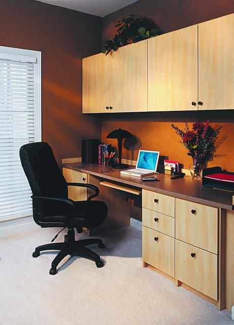 Traditional customized office storage Philadelphia