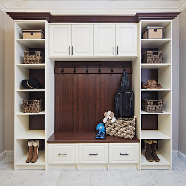 built-in cabinets South Jersey for pets and families