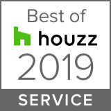 best of Houzz 2019 service badge for Closet & Storage Concepts Philadelphia
