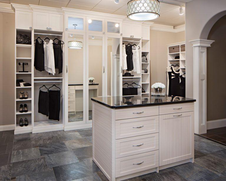 contemporary custom closet storage Philadelphia