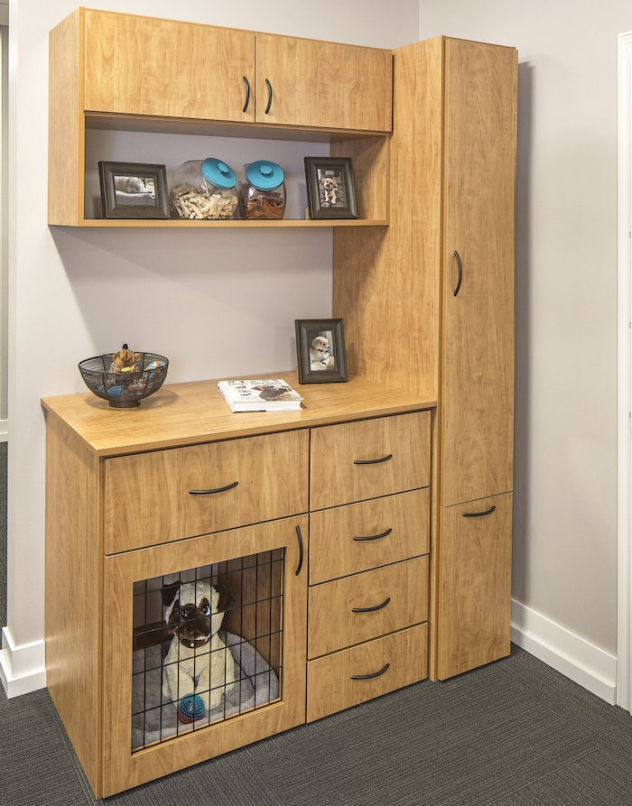 South Jersey cabinet closet system with pet storage supplies