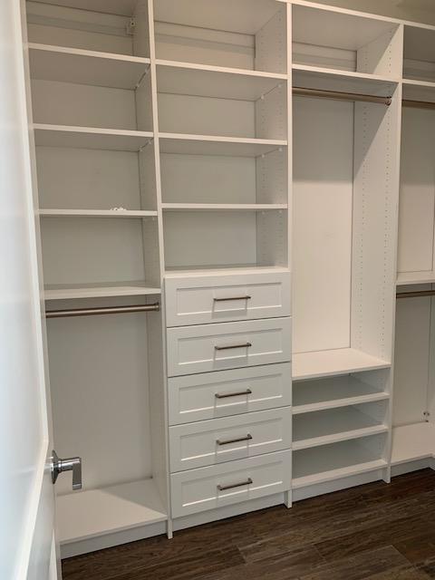 elegant custom closet shelving Philadelphia