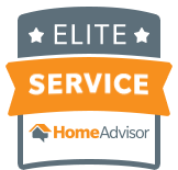 Elite Service HomeAdvisor badge