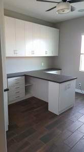 Scottsdale, AZ builtin craft room storage.