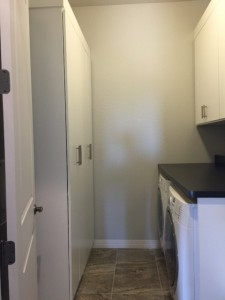 Built-in laundry cabinets in Scottsdale