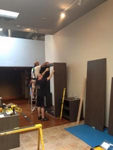 Closet & Storage Concepts Scottsdale showroom buildout