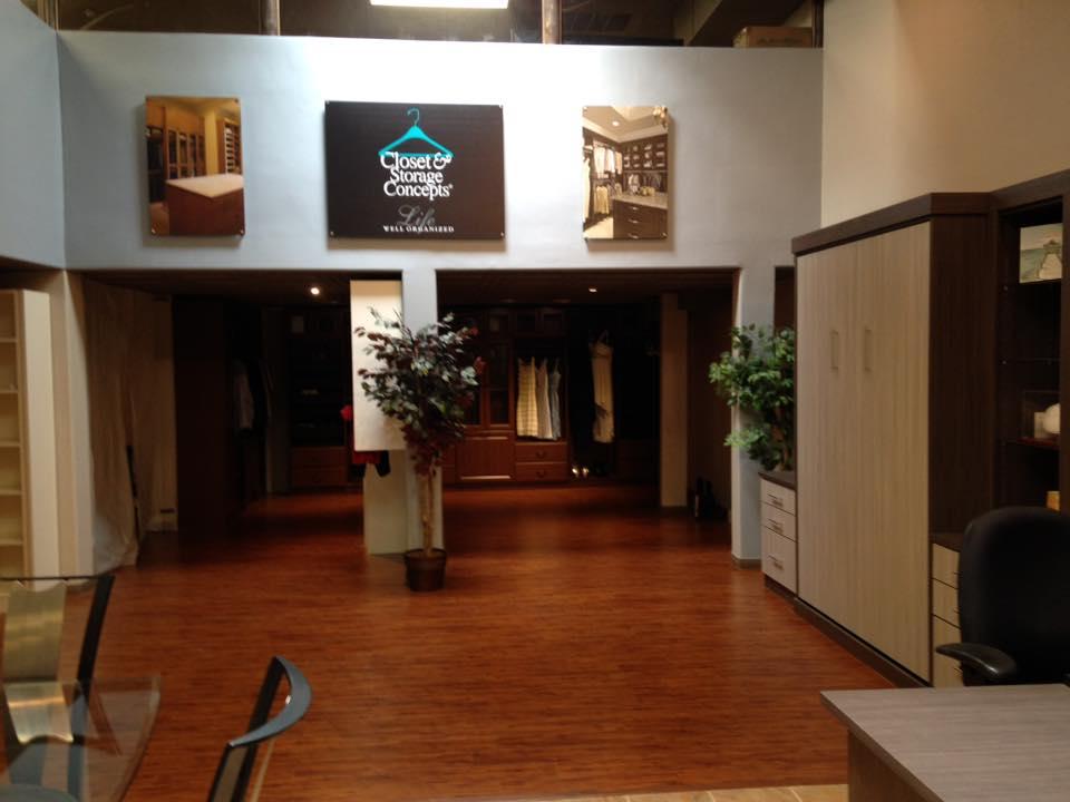 Closet & Storage Concepts Scottsdale showroom