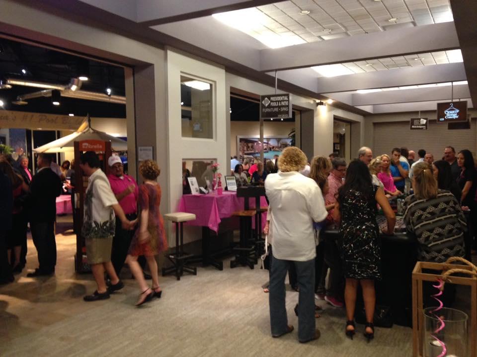 Casino night in the Scottsdale Design Center for Bad Girls Do Good Things