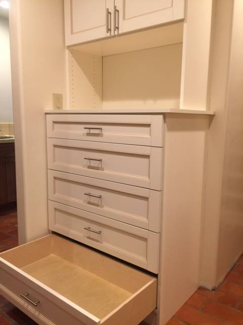 Custom closet drawer Scottsdale
