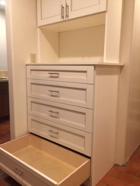 Custom closet drawer Scottsdale