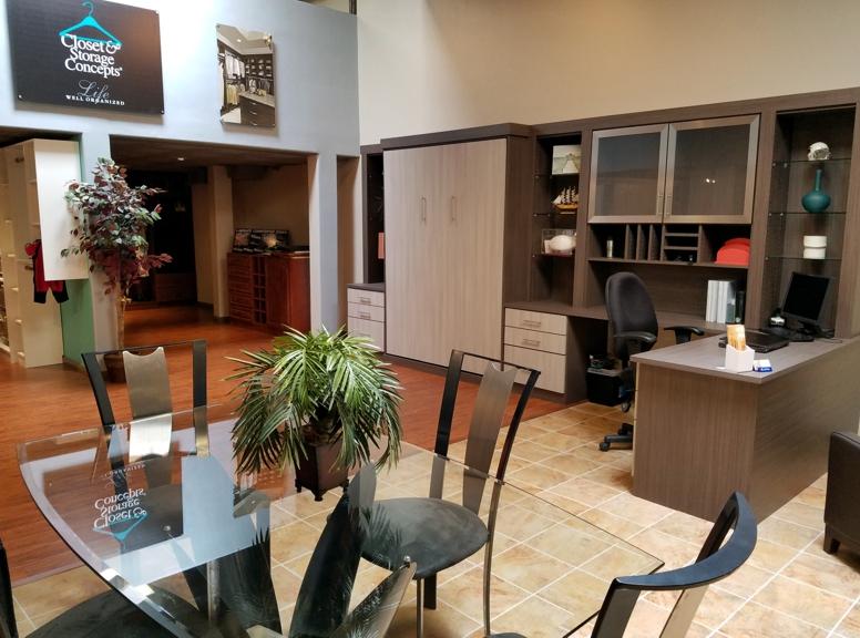 Reception area Closet & Storage Concepts Scottsdale