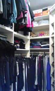 Custom closet in Gilbert, AZ