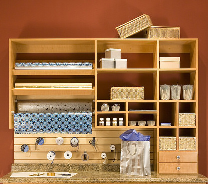 Customized craft station storage