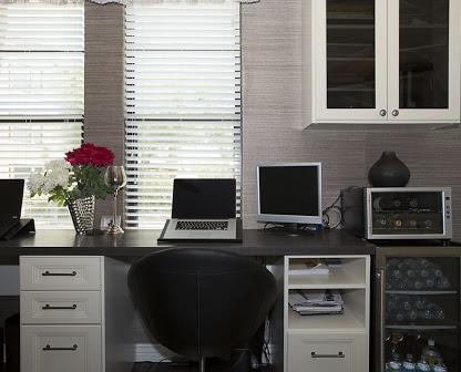 Office with wine bar storage Phoenix