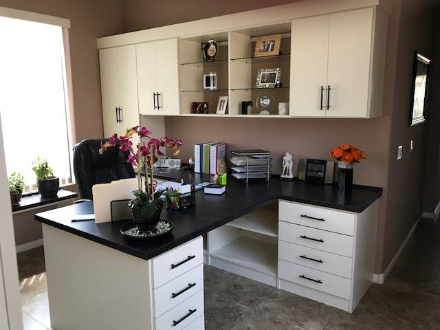 built-in home office storage Scottsdale