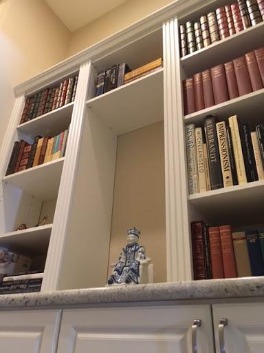 custom built-in bookcase in Scottsdale