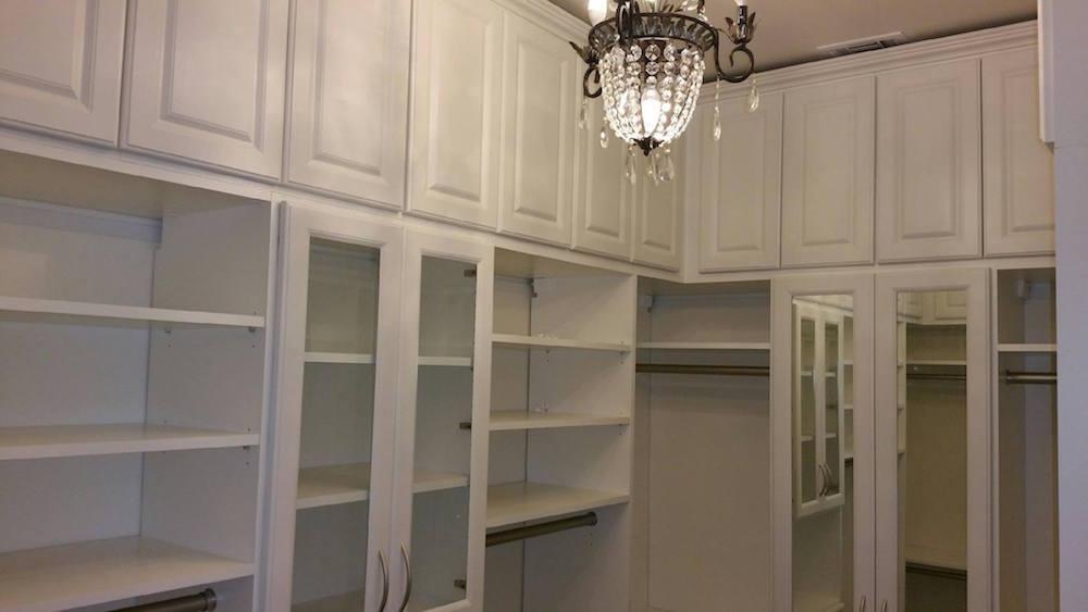 luxurious small walk-in closet Phoenix